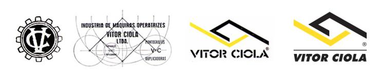 Evolução da marca Vitor Ciola