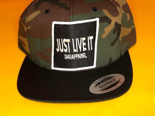 D4U Just Live It Snapbacks
