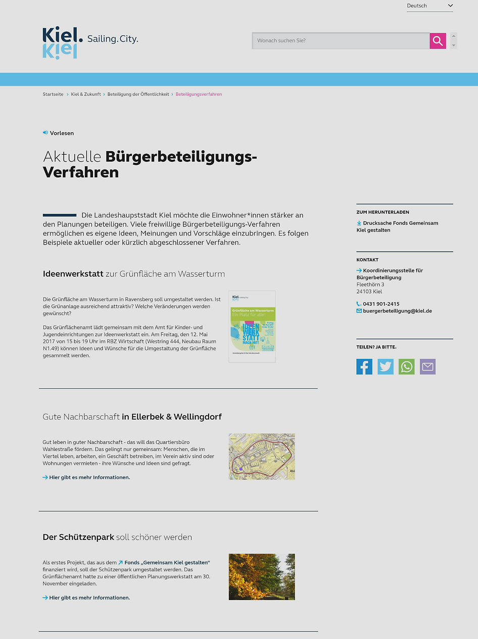 mingdu | REDESIGN FOR KIEL.DE