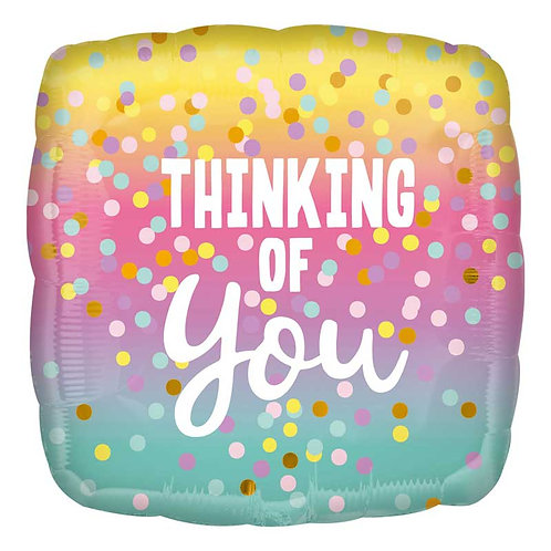 18IN THINKING OF YOU FOIL BALLOON