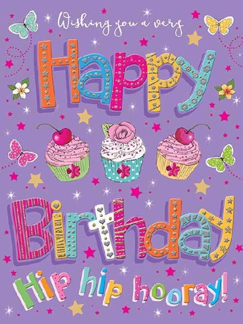 Cakes Birthday Card