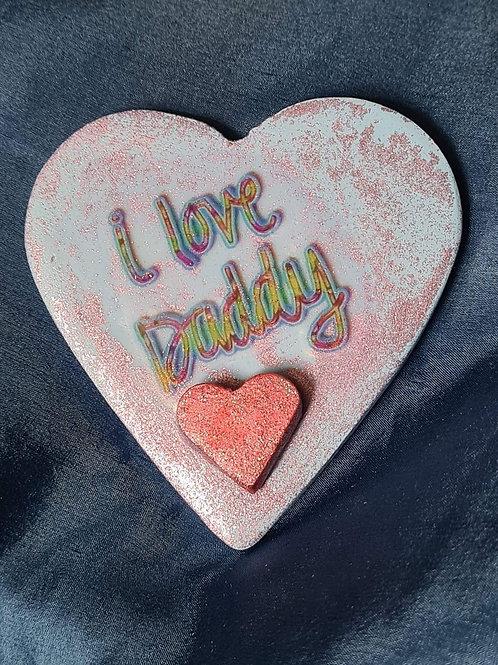 I Love Daddy Heart