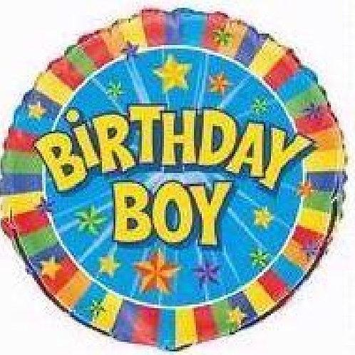 18IN BIRTHDAY BOY FOIL BALLOON