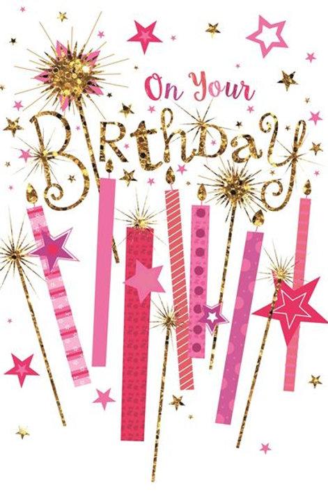 On Your Birthday Card
