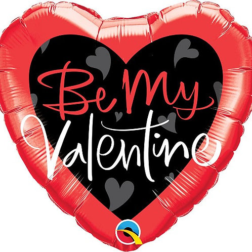 18IN BE MY VALENTINE FOIL BALLOON