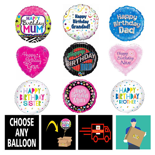 PRE-INFLATED FAMILY BIRTHDAYS