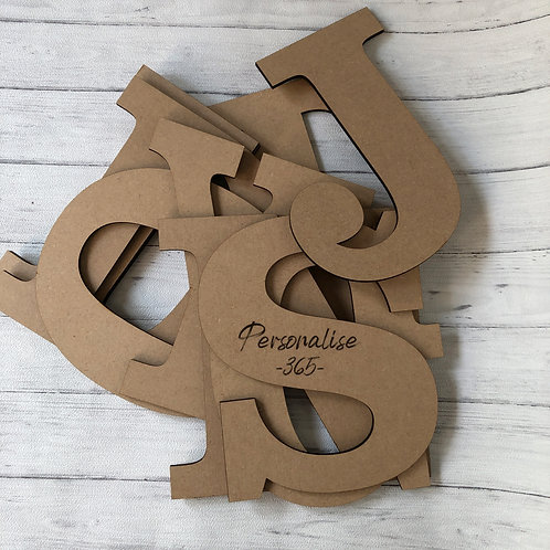 8cm Letters 4mm MDF