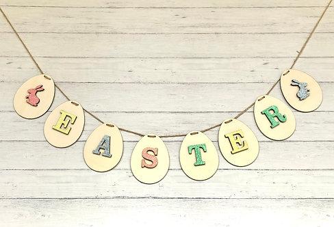 Easter Garland Bunting