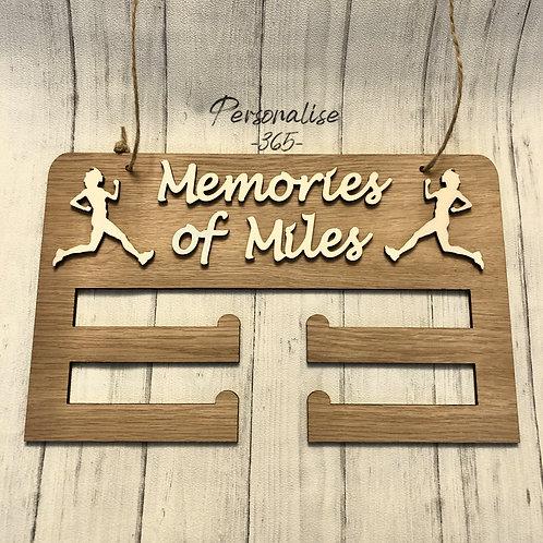 Runner Medal Holder Personalised