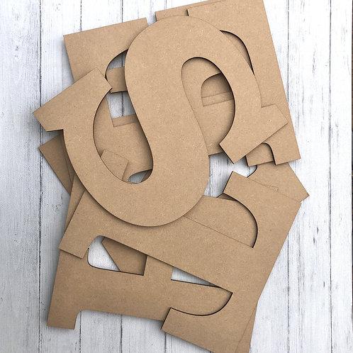 6cm Alphabet Letters