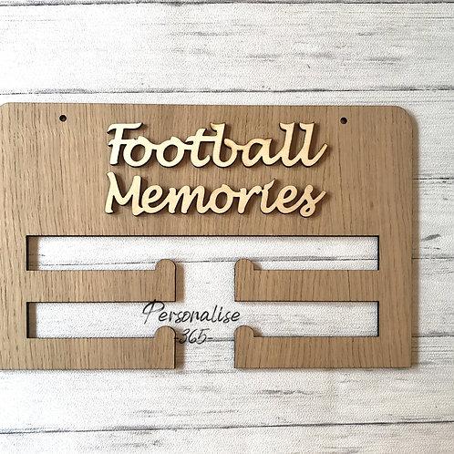 Football Memories Medal Holder