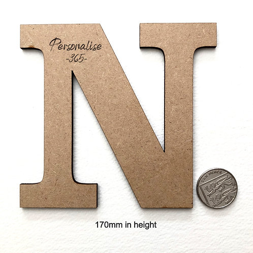 20cm letters 4mm MDF