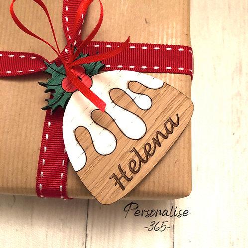 Oak Gift Tags personalised