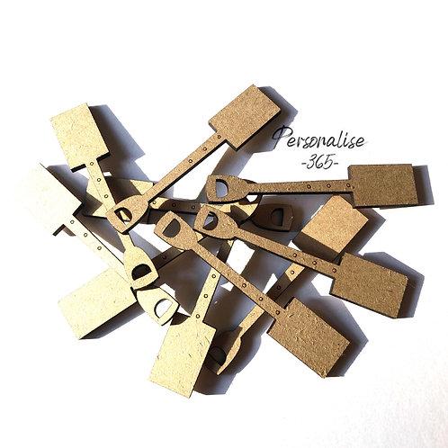 Garden Spade wooden MDF x 10 craft shape
