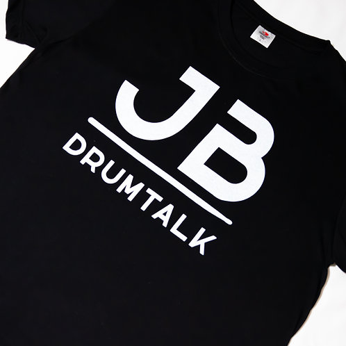 JBDrumTalk Shirt (Black)