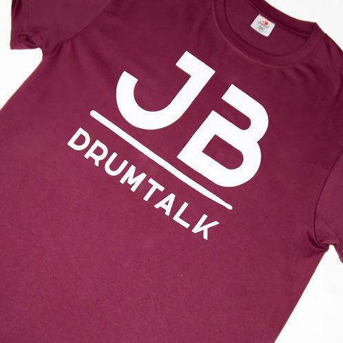 JBDrumTalk Shirt (Maroon)