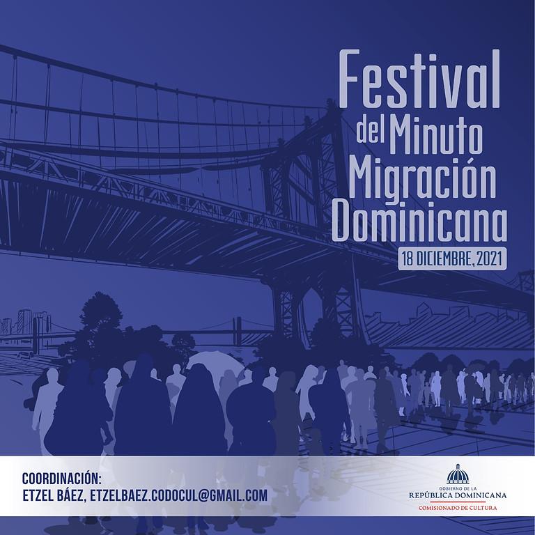Festival del Minuto Migración Dominicana