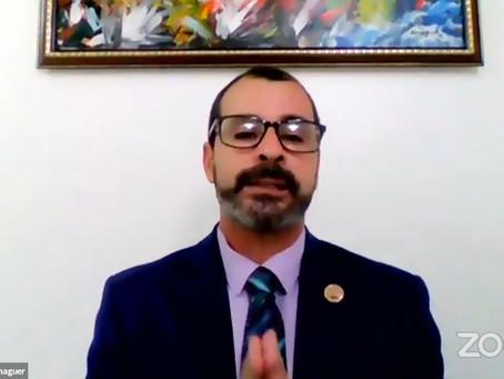 Comisionado Dominicano de Cultura celebra conferencia virtual en honor a José Martí