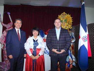 El Comisionado Dominicano de Cultura celebró con éxito Desayuno Patriótico Dominicano.