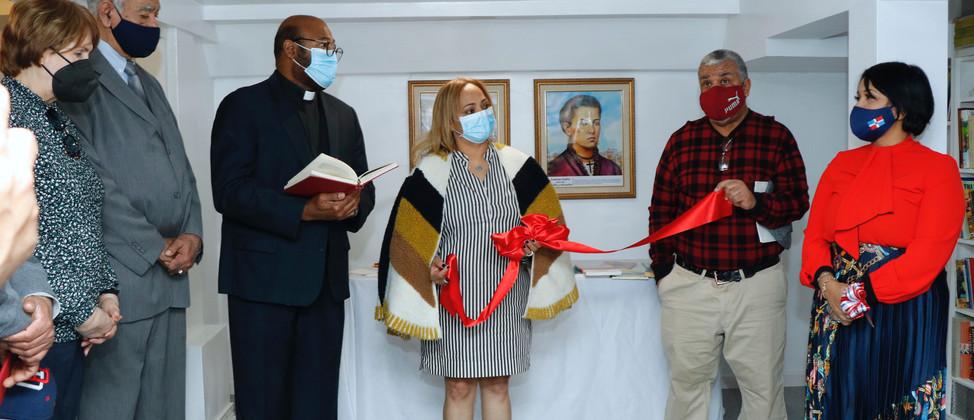 Inauguración de la Escuela de Formación Salomé Ureña