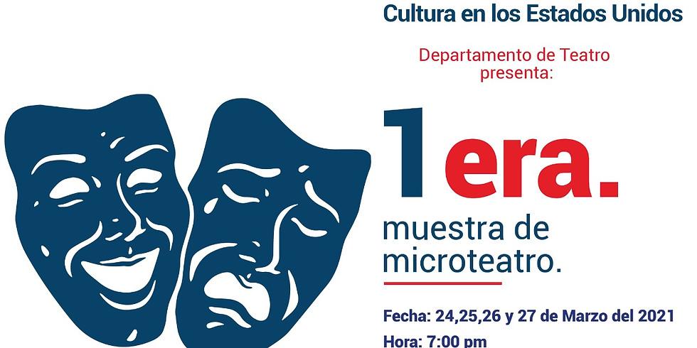1ra Muestra de Microteatro