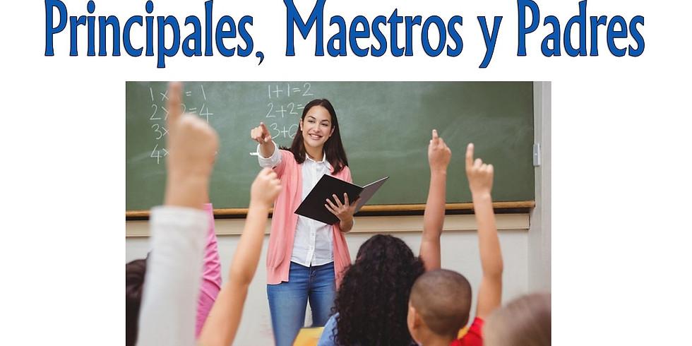 Encuentro Virtual con Principales Maestros y Padres