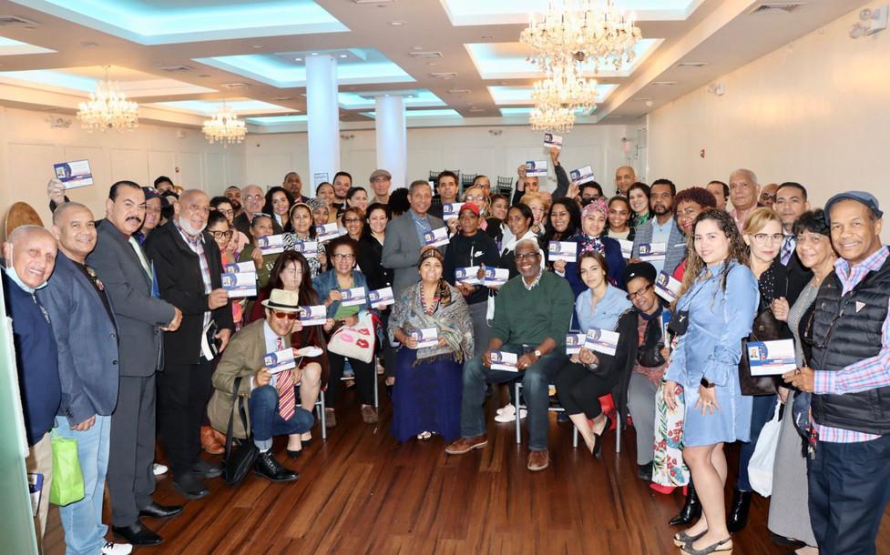 Reunión de trabajo de la Primera Feria Cultural y XII del Libro Dominicano en Nueva York.j