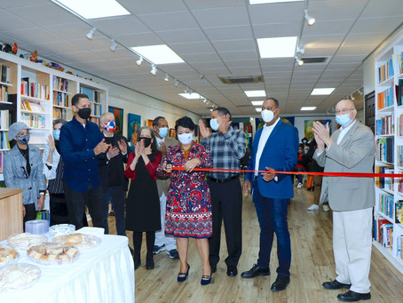 Inauguración de la biblioteca Carlos Rodríguez y el gift shop Arquidamia
