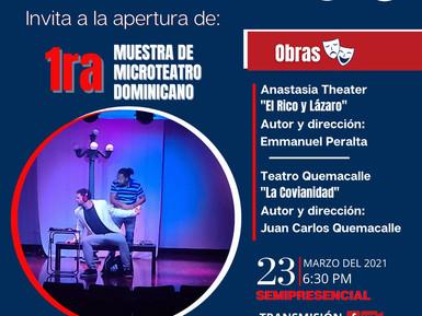 El Comisionado Dominicano de Cultura inicia primera muestra Micro Teatro Dominicano en NY