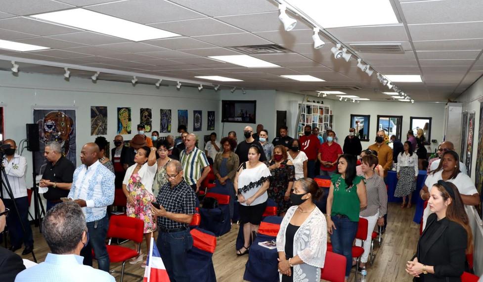 Reunión de Coordinación de la I Feria Cultural y XII Feria del Libro Dominicano en NY.