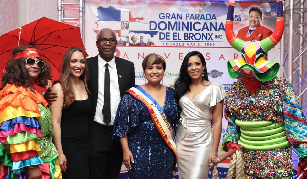 Gala de celebración de la 32 Parada Dominicana del Bronx.