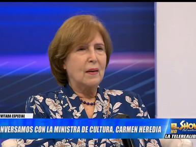 Ministra Carmen Heredia destaca sus experiencias en las áreas culturales y administrativas