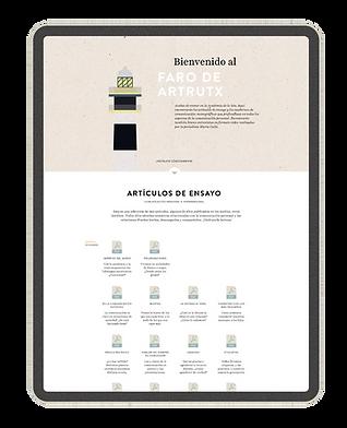 Faro de Artrutx - Artículos