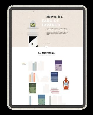 Faro de Favàritx - Libros