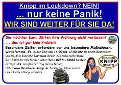 Öffnungszeiten Lockdown Corona Knipp 20