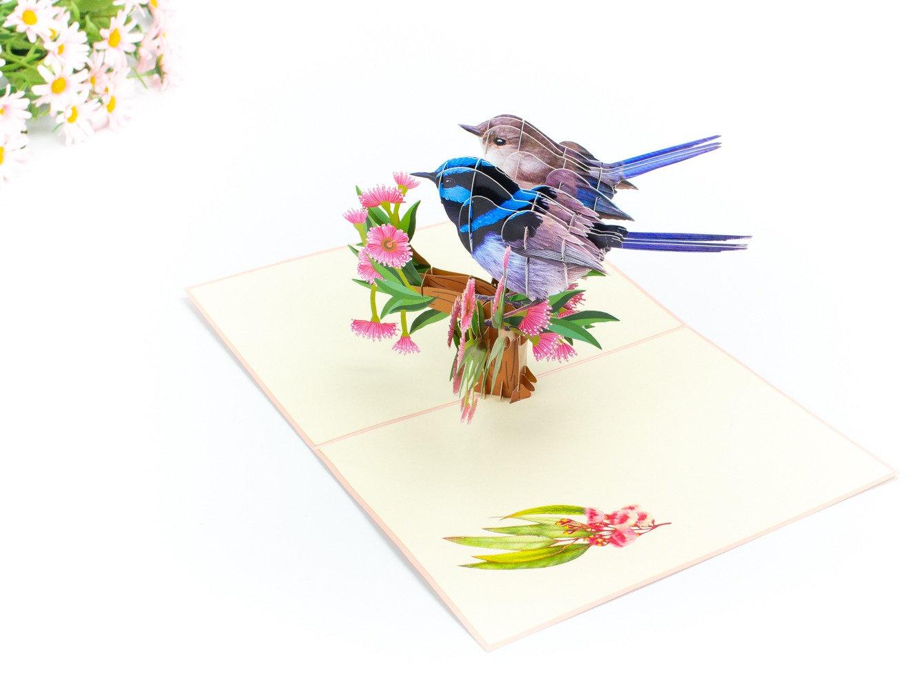 3 Pack Birds Postcards