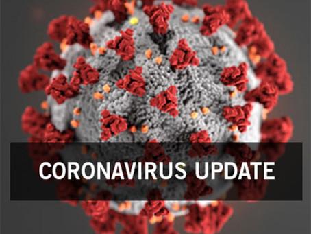 OFFICIAL UPDATE: CORONAVIRUS (COVID-19) 3/17/20
