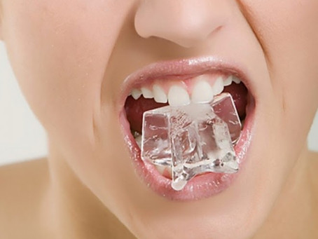 Is Chewing Ice Bad for My Teeth?