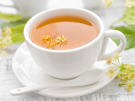My Current Favorite Herbal Tea Recipe: Linden, Lemon Verbena, Rose and More