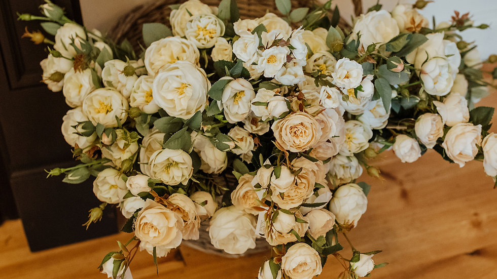 A wrap of Silk Roses