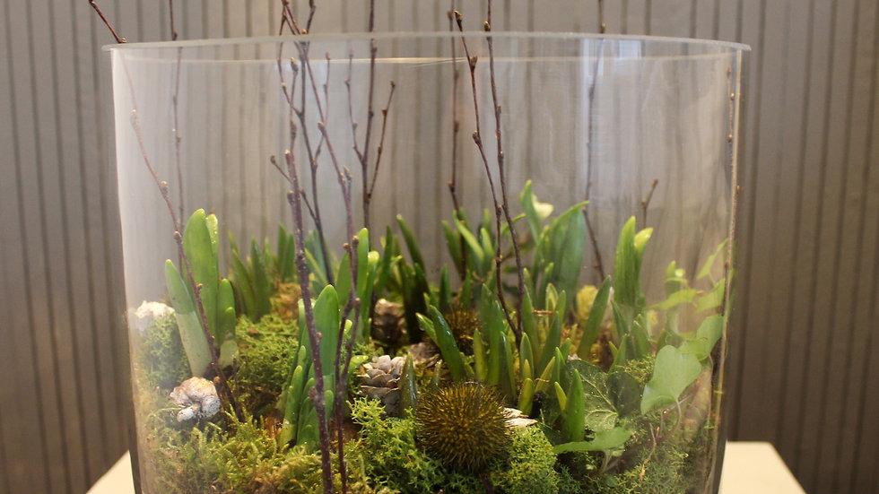 Spring Glass Planter