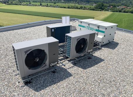 Heizen/Kühlen 4.0 - Heizraum als Dachbox