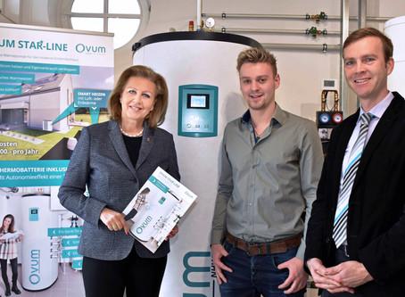 LR Patrizia Zoller Frischauf ist begeistert von der Innovation bei OVUM!