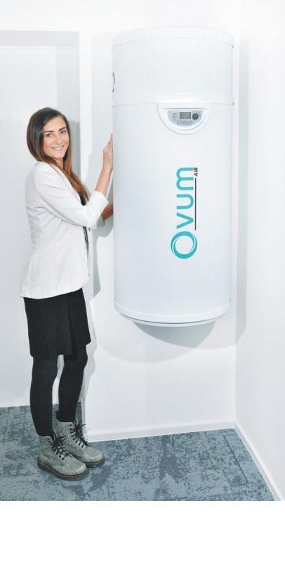 Ovum Passivwarmwasser XR 100