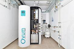 Einbau der ersten Kompaktwärmepumpe OVUM NHWP sowie Start der Serienproduktion