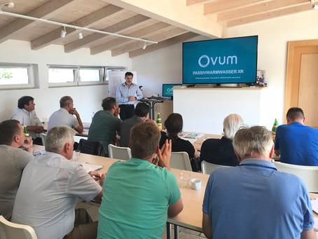Eröffnung des OVUM Schulungszentrums