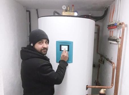 1 Tag Montage = modernstes Wärmepumpen-Heizhaus