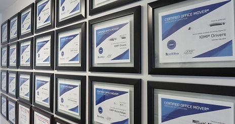 IOMI Certificates