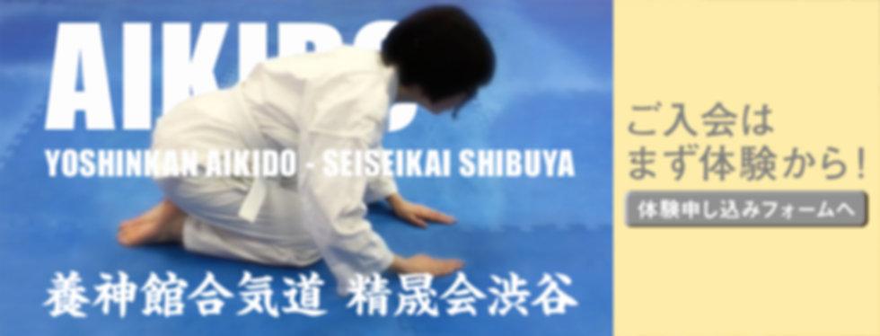 画像:合気道渋谷_体験バナー