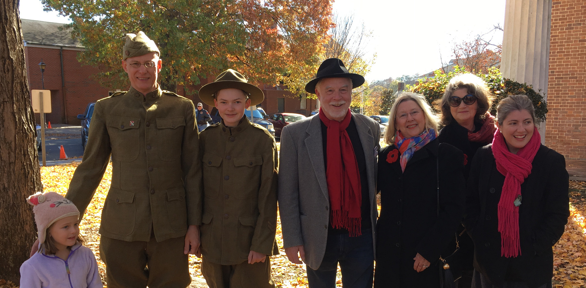 Veteran's Day Celebration honoring 100th Anniversary of WWI